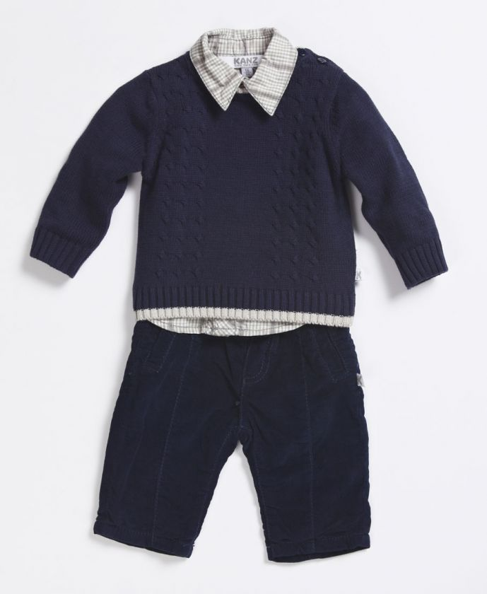 best loved bd575 15c33 3-teiliger Anzug 'Festive Boys' blau