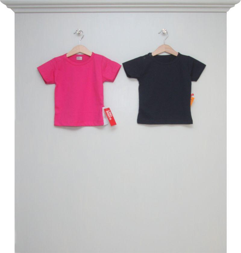 T Shirts Fuchsia Und Navy