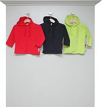 Sweatshirt-Kapuzenjacken red, navy und lime